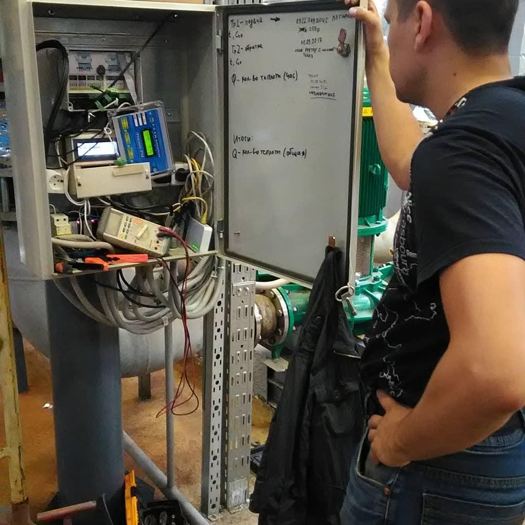 варианты установки общедомового счетчика на отопление