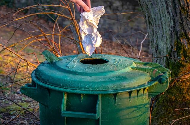 Квитанции за вывоз мусора